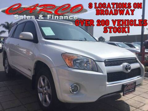 2011 Toyota RAV4 for sale at CARCO SALES & FINANCE in Chula Vista CA