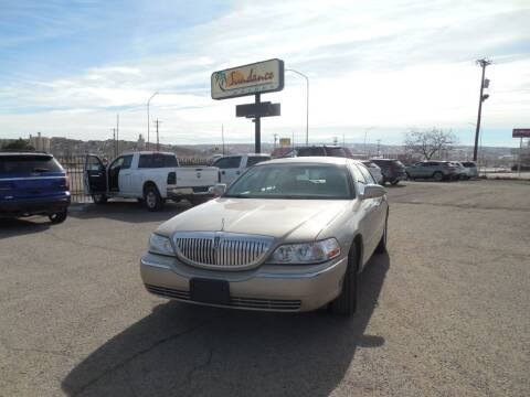 2011 Lincoln Town Car for sale at Sundance Motors in Gallup NM