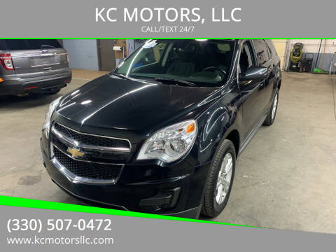 2014 Chevrolet Equinox for sale at KC MOTORS, LLC in Boardman OH
