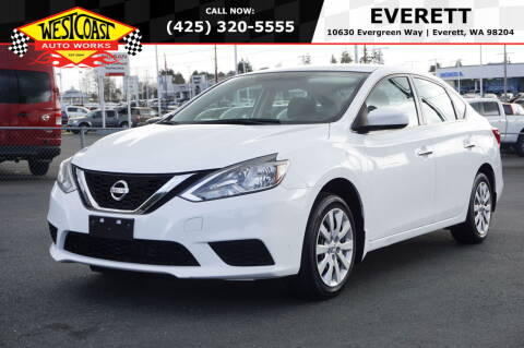 2017 Nissan Sentra for sale at West Coast Auto Works in Edmonds WA