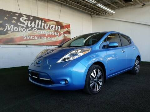 2013 Nissan LEAF for sale at SULLIVAN MOTOR COMPANY INC. in Mesa AZ