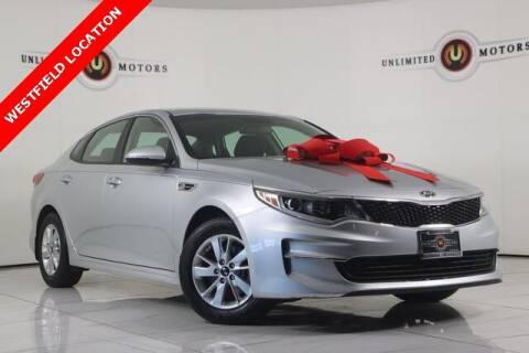 2018 Kia Optima for sale at INDY'S UNLIMITED MOTORS - UNLIMITED MOTORS in Westfield IN