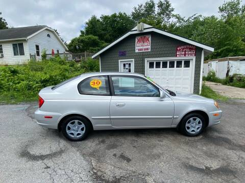 2004 Hyundai Accent for sale at KMK Motors in Latham NY