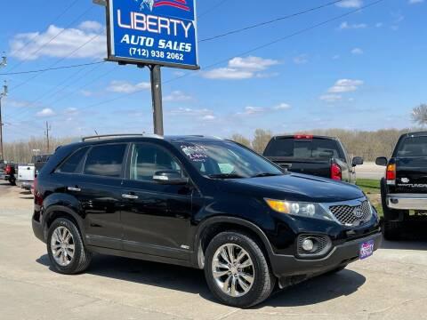 2011 Kia Sorento for sale at Liberty Auto Sales in Merrill IA