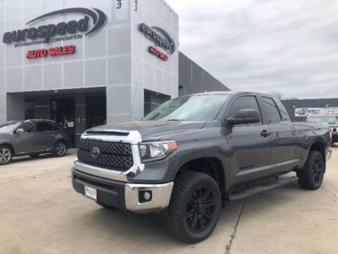 2018 Toyota Tundra for sale at Eurospeed International in San Antonio TX