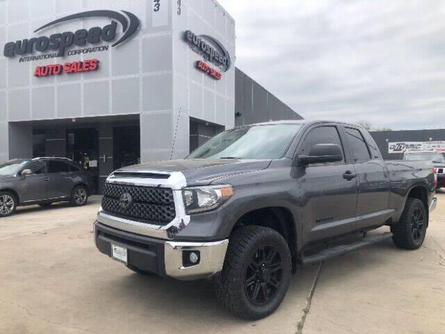 2018 Toyota Tundra for sale at Eurospeed International in San Antonio TX