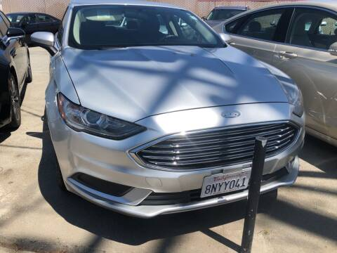 2017 Ford Fusion Hybrid for sale at Brand Motors llc in Belmont CA