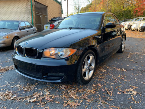 2009 BMW 1 Series for sale at Diana Rico LLC in Dalton GA