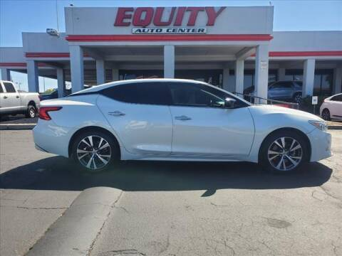 2016 Nissan Maxima for sale at EQUITY AUTO CENTER in Phoenix AZ