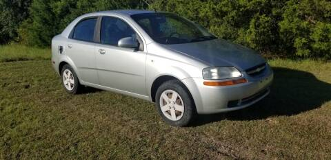 2005 Chevrolet Aveo for sale at CAVENDER MOTORS in Van Alstyne TX