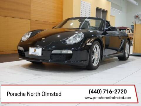 2008 Porsche Boxster for sale at Porsche North Olmsted in North Olmsted OH