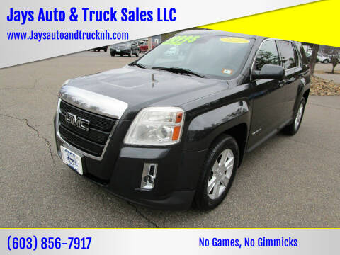 2013 GMC Terrain for sale at Jays Auto & Truck Sales LLC in Loudon NH