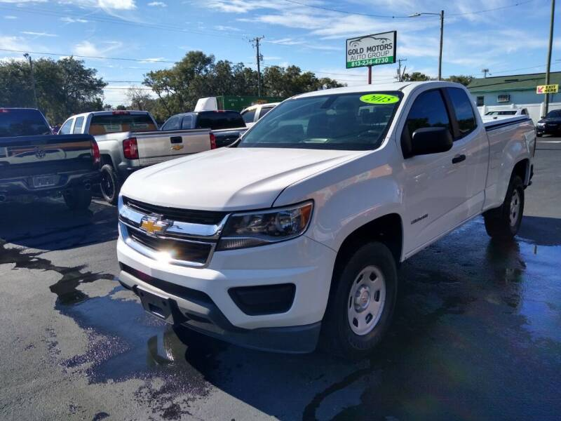 2015 Chevrolet Colorado for sale at Gold Motors Auto Group Inc in Tampa FL