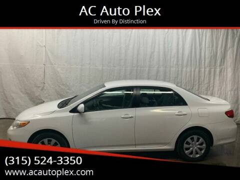 2011 Toyota Corolla for sale at AC Auto Plex in Ontario NY