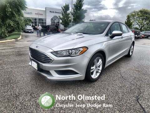 2018 Ford Fusion for sale at North Olmsted Chrysler Jeep Dodge Ram in North Olmsted OH
