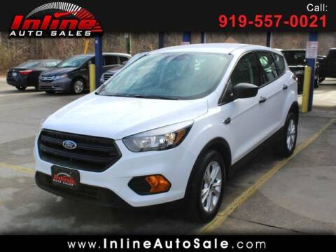 2019 Ford Escape for sale at Inline Auto Sales in Fuquay Varina NC