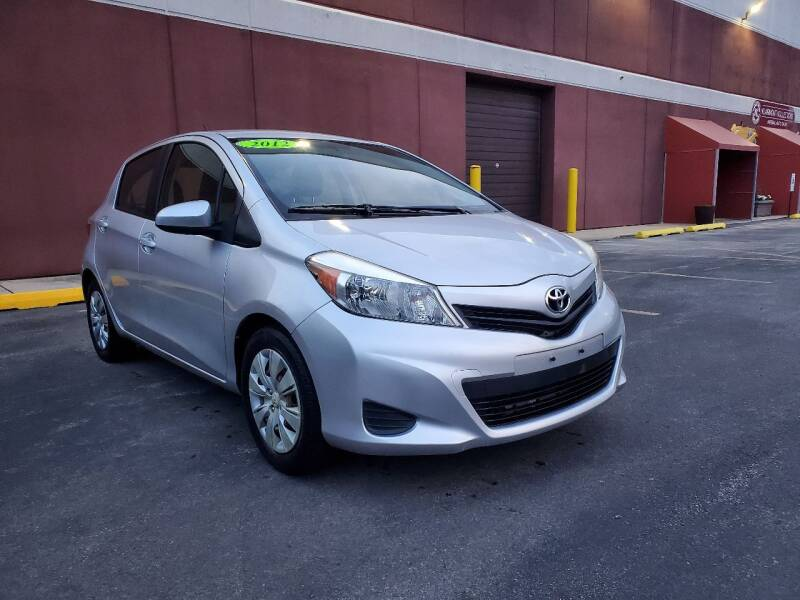 2012 Toyota Yaris for sale at U.S. Auto Group in Chicago IL