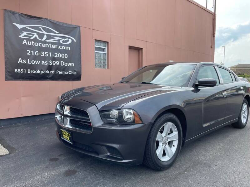 2013 Dodge Charger for sale at ENZO AUTO in Parma OH