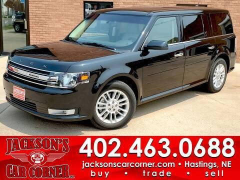 2017 Ford Flex for sale at Jacksons Car Corner Inc in Hastings NE