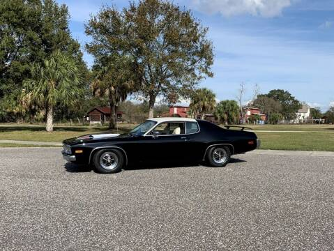 1974 Plymouth Satellite for sale at P J'S AUTO WORLD-CLASSICS in Clearwater FL