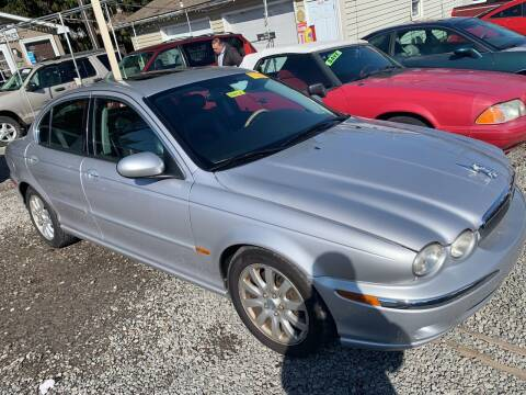 2003 Jaguar X-Type for sale at Trocci's Auto Sales in West Pittsburg PA