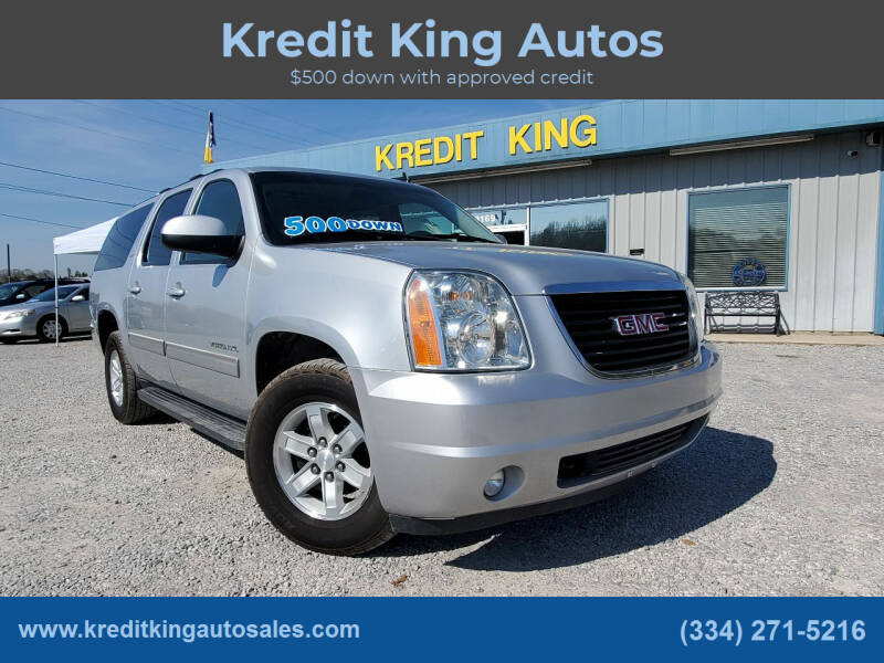 2013 GMC Yukon XL for sale at Kredit King Autos in Montgomery AL