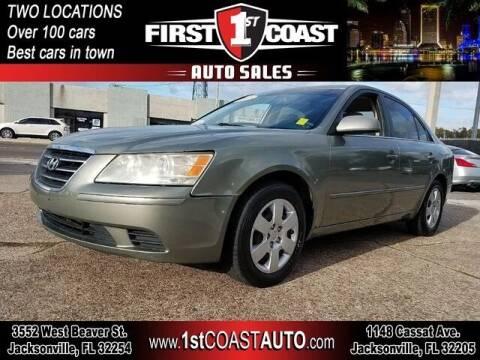 2009 Hyundai Sonata for sale at 1st Coast Auto -Cassat Avenue in Jacksonville FL