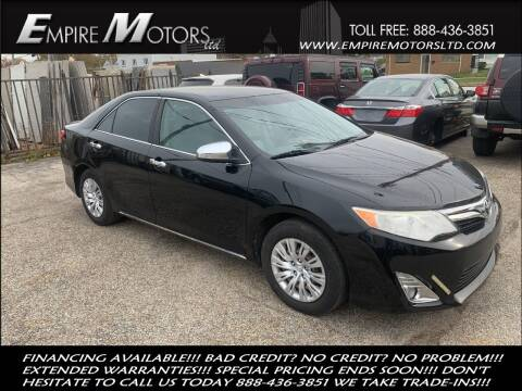 2012 Toyota Camry for sale at Empire Motors LTD in Cleveland OH