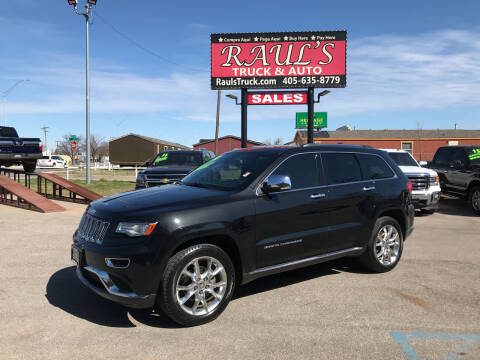2014 Jeep Grand Cherokee for sale at RAUL'S TRUCK & AUTO SALES, INC in Oklahoma City OK