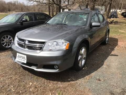 2011 Dodge Avenger for sale at Riverside Auto Sales in Saint Croix Falls WI