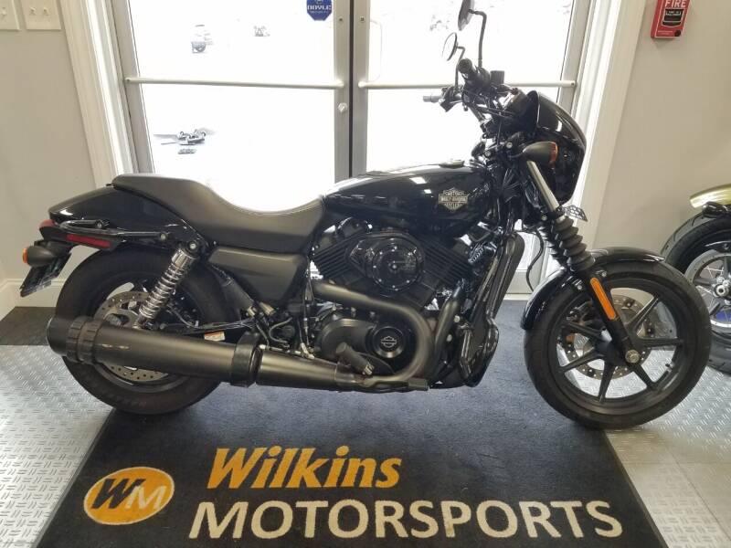 2018 Harley-Davidson XG 500 Street for sale at WILKINS MOTORSPORTS in Brewster NY