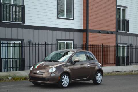 2012 FIAT 500 for sale at Skyline Motors Auto Sales in Tacoma WA