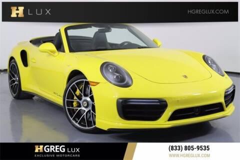 2017 Porsche 911 for sale at HGREG LUX EXCLUSIVE MOTORCARS in Pompano Beach FL