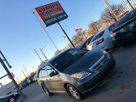 2007 Honda Odyssey for sale at Dymix Used Autos & Luxury Cars Inc in Detroit MI