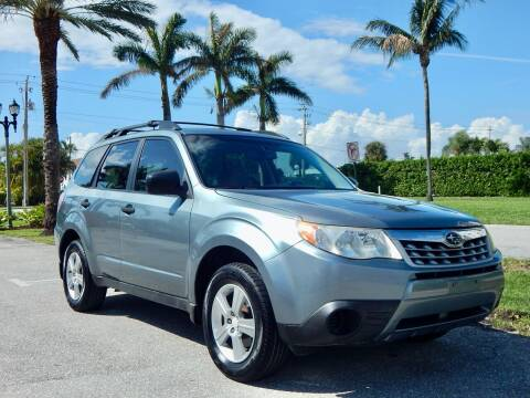 2011 Subaru Forester for sale at VE Auto Gallery LLC in Lake Park FL