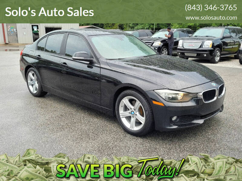 2015 BMW 3 Series for sale at Solo's Auto Sales in Timmonsville SC