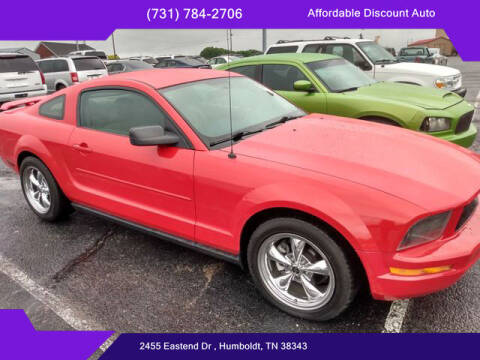 2006 Ford Mustang for sale at AFFORDABLE DISCOUNT AUTO in Humboldt TN