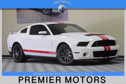 2012 Ford Shelby GT500 for sale at Premier Motors in Hayward CA