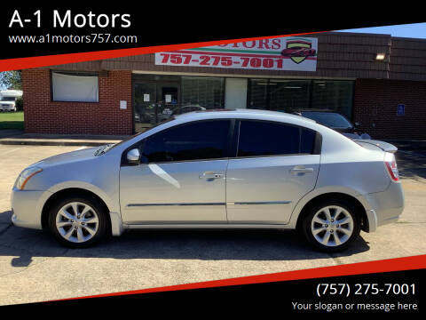 2011 Nissan Sentra for sale at A-1 Motors in Virginia Beach VA