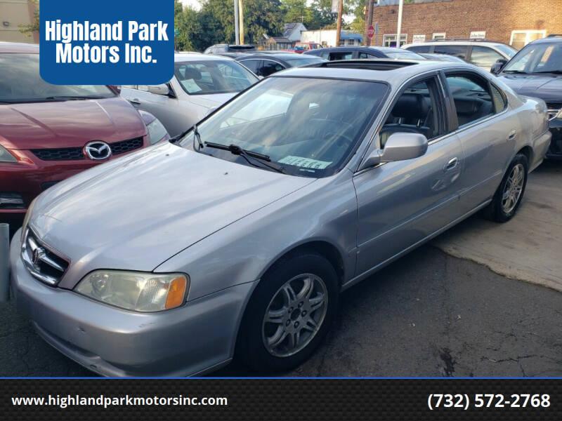 2001 Acura TL for sale at Highland Park Motors Inc. in Highland Park NJ