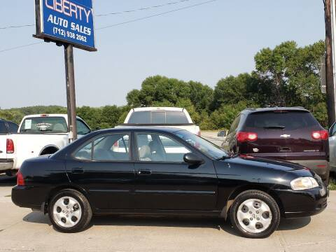 2006 Nissan Sentra for sale at Liberty Auto Sales in Merrill IA