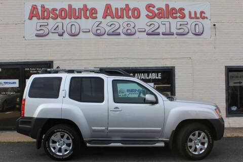 2010 Nissan Xterra for sale at Absolute Auto Sales in Fredericksburg VA