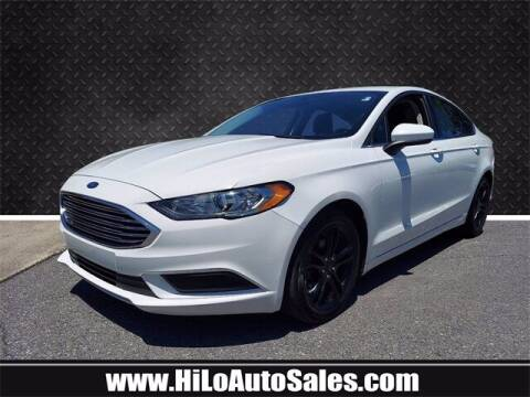 2018 Ford Fusion for sale at Hi-Lo Auto Sales in Frederick MD