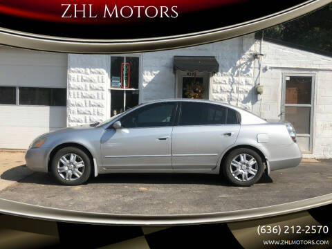 2002 Nissan Altima for sale at ZHL Motors in House Springs MO