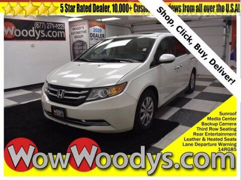 2014 Honda Odyssey for sale at WOODY'S AUTOMOTIVE GROUP in Chillicothe MO