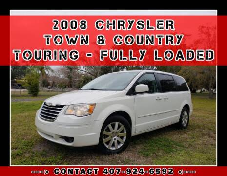 2008 Chrysler Town and Country for sale at AFFORDABLE ONE LLC in Orlando FL