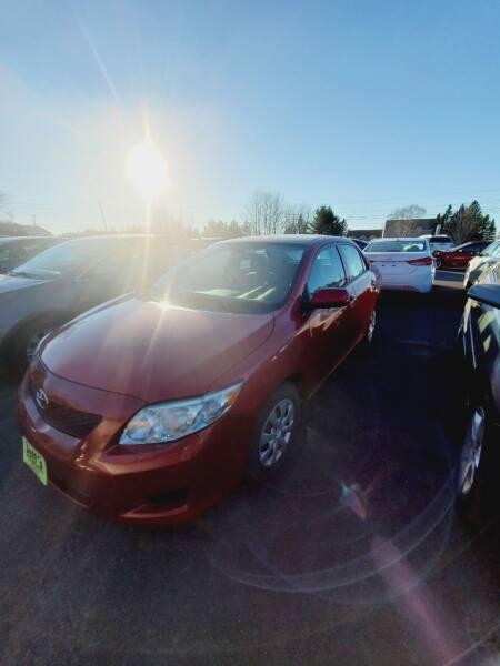 2010 Toyota Corolla for sale at Jeff's Sales & Service in Presque Isle ME