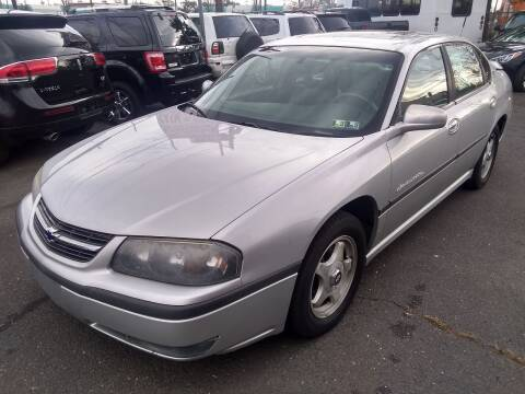 2001 Chevrolet Impala for sale at Wilson Investments LLC in Ewing NJ