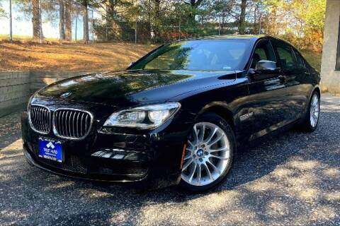 2014 BMW 7 Series for sale at TRUST AUTO in Sykesville MD