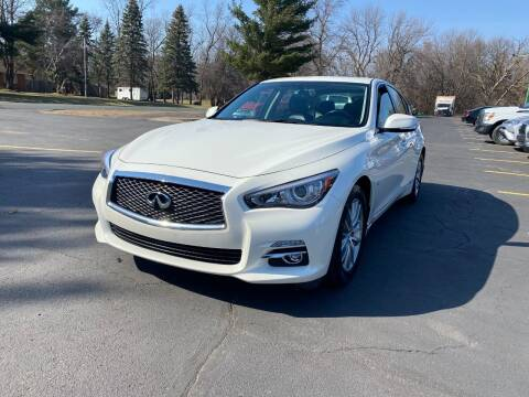2017 Infiniti Q50 for sale at Northstar Auto Sales LLC in Ham Lake MN